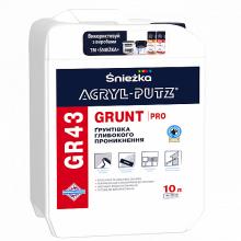 Sniezka ACRYL-PUTZ® GR43 GRUNT PRO - Грунтовка глубокого проникновения