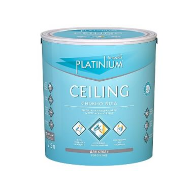 Sniezka Platinium Ceiling - Снежно-белая матовая краска