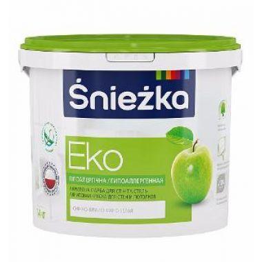 Śnieżka EKO - Гипоаллергенная акриловая краска для стен и потолков