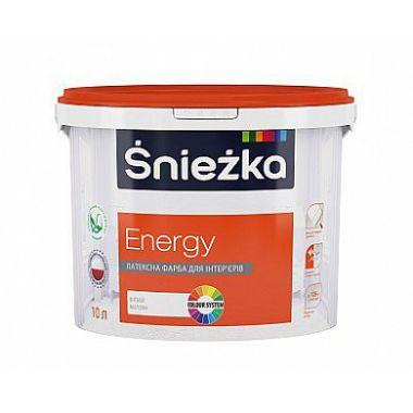 Śnieżka ENERGY- Матовая латексная краска для интерьеров
