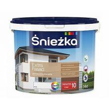 Śnieżka EXTRA FASAD - Матовая акриловая эмульсионная краска для фасадов и внешних стен