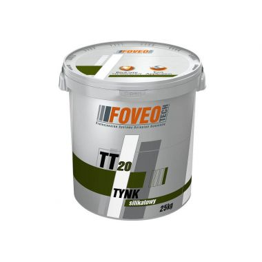Foveo Tech Tynk Silikatowy TT20 - Силикатная штукатурка
