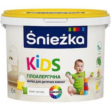 Śnieżka KIDS - Гипоаллергенная краска для детских комнат