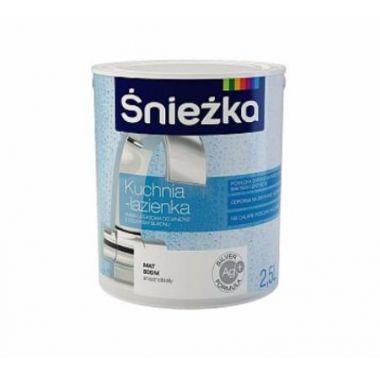Śnieżka KUCHNIA - LAZIENKA - Матовая латексная краска для кухни и ванной