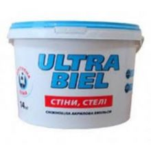 Śnieżka ULTRA BIEL - Снежно-белая акриловая краска для стен и потолков