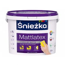 Śnieżka MATTLATEX - Матовая латексная краска для интерьеров