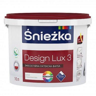 Śnieżka DESIGN LUX - глубоко матовая латексная краска для интерьеров