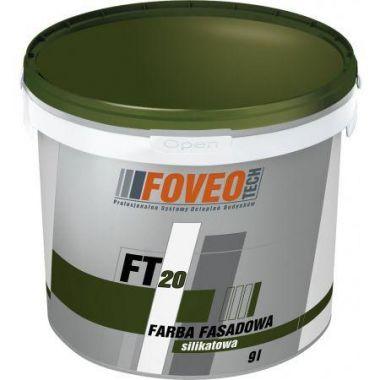 Foveo Tech Farba Fasadowa Silikatowa FT20 - Силикатная краска